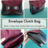 The Envelope Clutch Bag - free bag pattern