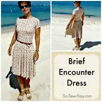 Brief Encounter Dress - Free easy dress pattern