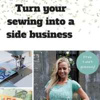 How to Start Your Sewing Side Business + Free Giveaway!
