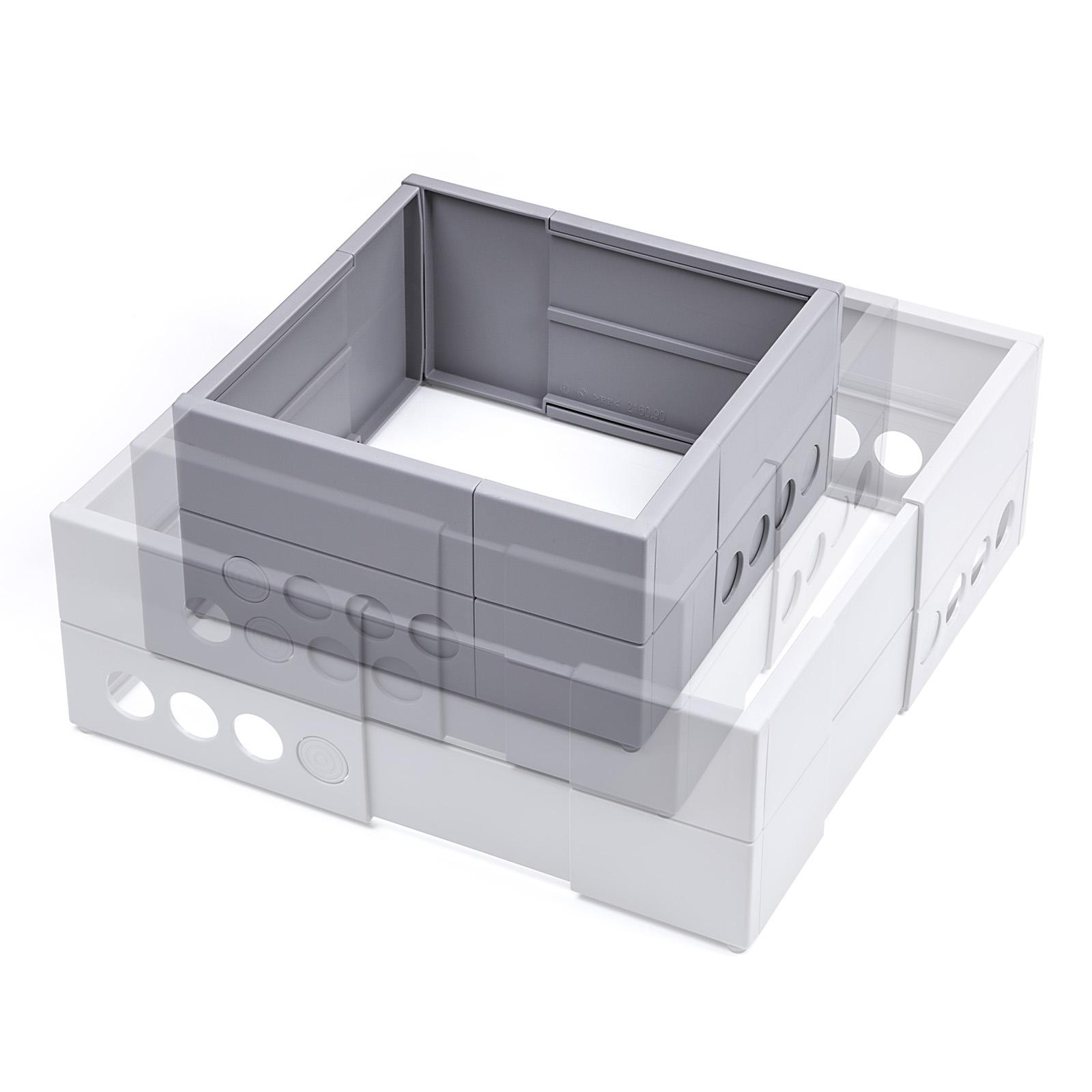 Schubladentrenner k che 2 4 x schubladenteiler for Schubladentrenner kuche