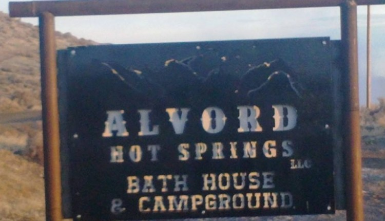 Alvord Hot Springs Sign