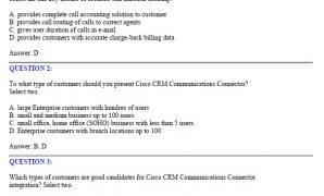 CCNA 646-096 CRM Express for Account Managers