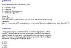 CCNA Exam 642-444 – IP Telephony Exam