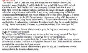 MCDBA Skills to MCITP Database Administrator by Using Microsoft SQL Server 2005