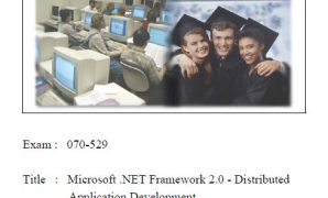 .net framework 2.0 distributed applications