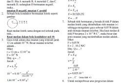 Latihan Soal Fisika SMK 2010 dan Jawabannya
