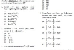 Soal Latihan dan Simulasi SNMPTN 2011