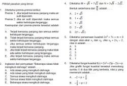 Prediksi Soal Ujian Nasional SMA IPA/IPS 2013