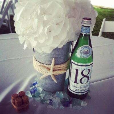 sea glass wedding