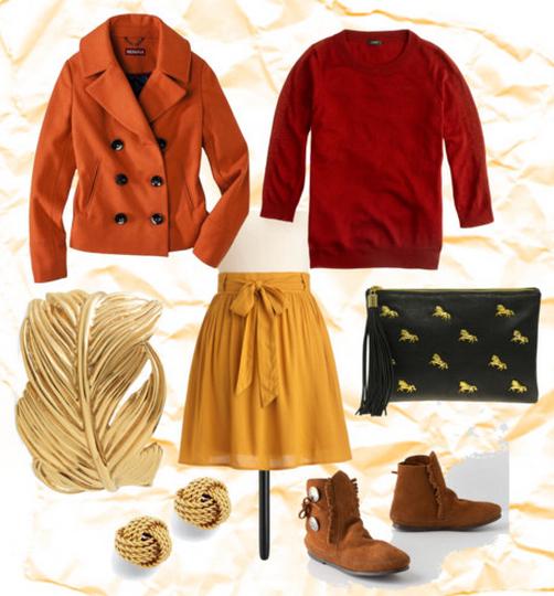 fall leaf fashion