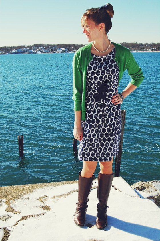 lilly pulitzer button dress
