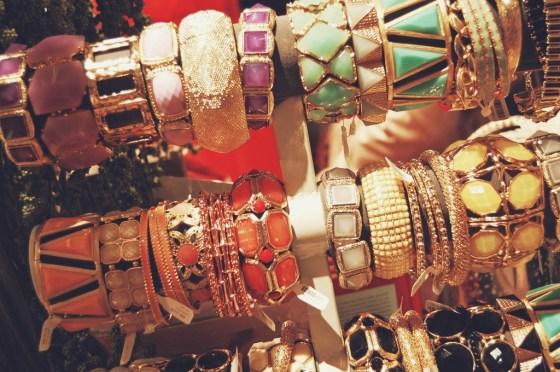 chunky pastel bangles bracelets