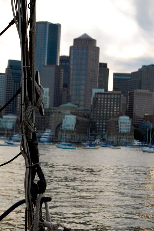 boston harbor cruise review