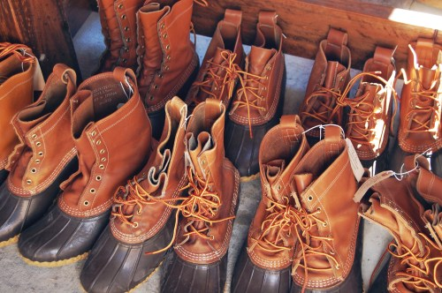 bean boots photography