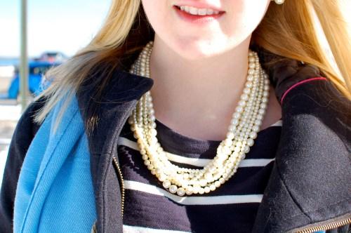 Vintage Multi-Strand Pearls