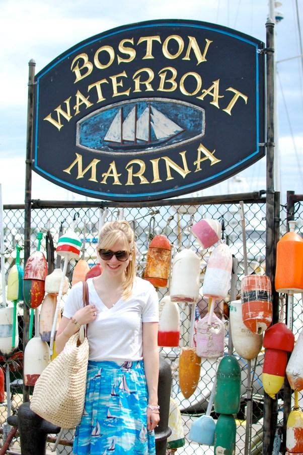 Boston Waterfront Buoys