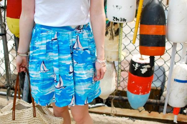 nautical skirts