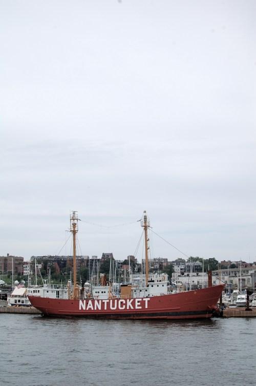 Nantucket Ship Boston Harbor