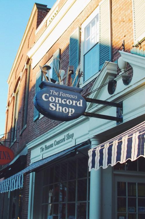 The Concord Shop