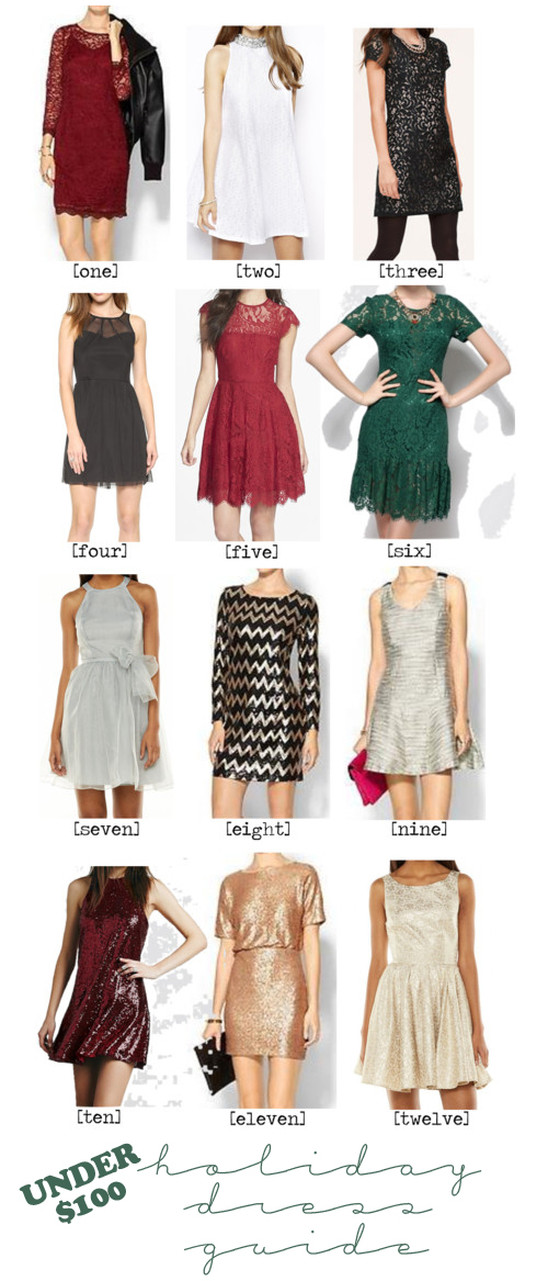 Christmas dresses under $100