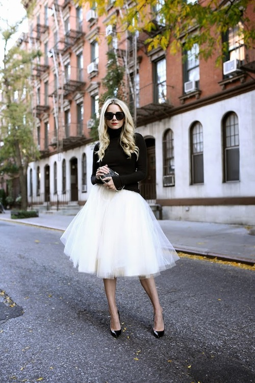 Atlantic Pacific Blog Tulle Skirt