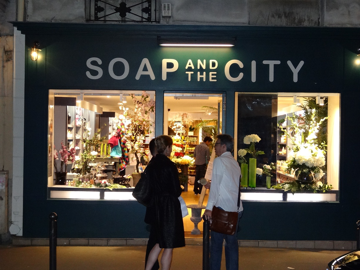 Chambre Commerce Paris Soap And The City à Paris - Savons Naturels, Parfums