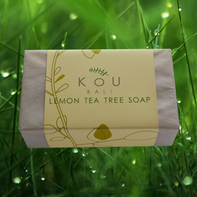 kou soap bali lemon tea tree