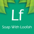soap with loofah