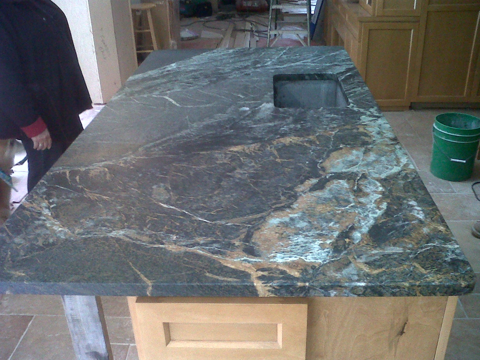 Green Soapstone Countertops Beautiful Copper Minas Soapstone Soapstone Werks