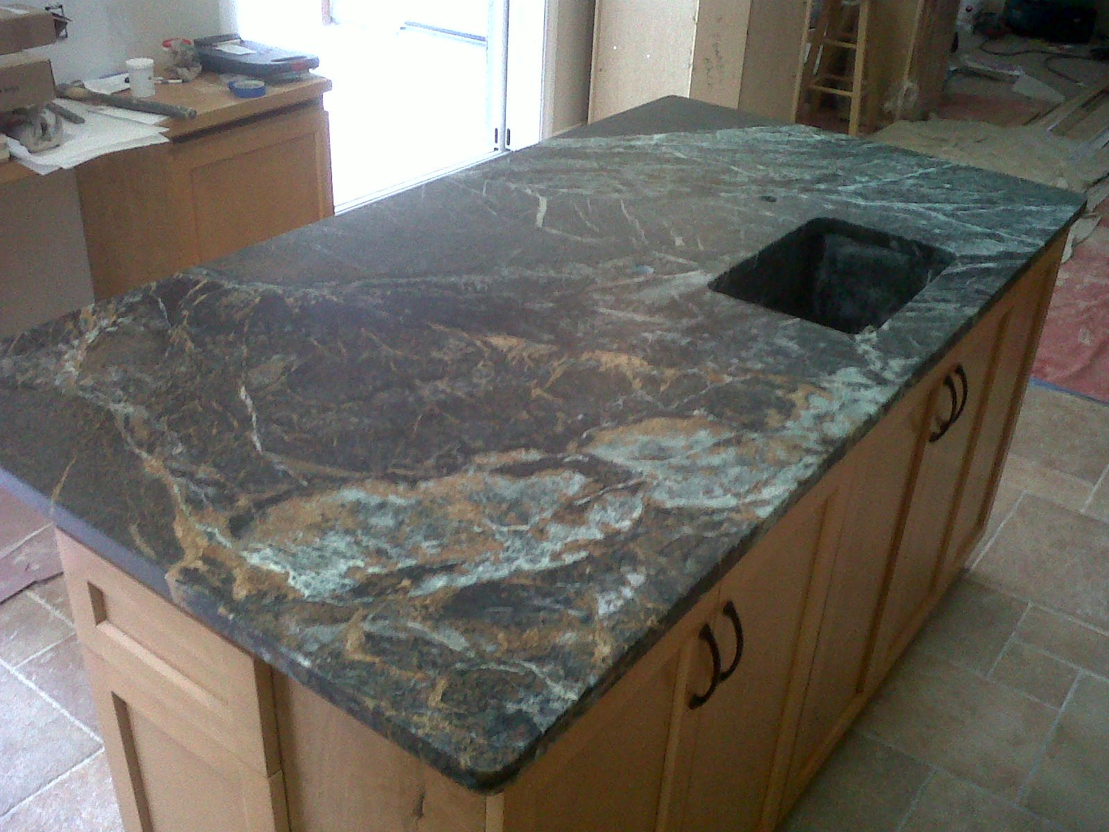 Green Soapstone Countertops Beautiful Copper Minas Soapstone