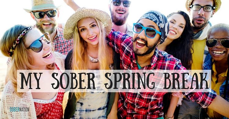 Sober in PCB - My College Spring Break