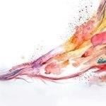 Когда человек Дзен рисует, то вся вселенная находится на кончике его кисти