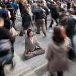 медитация в час пик