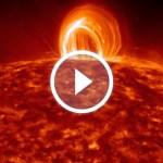 Солнечная активность крупным планом