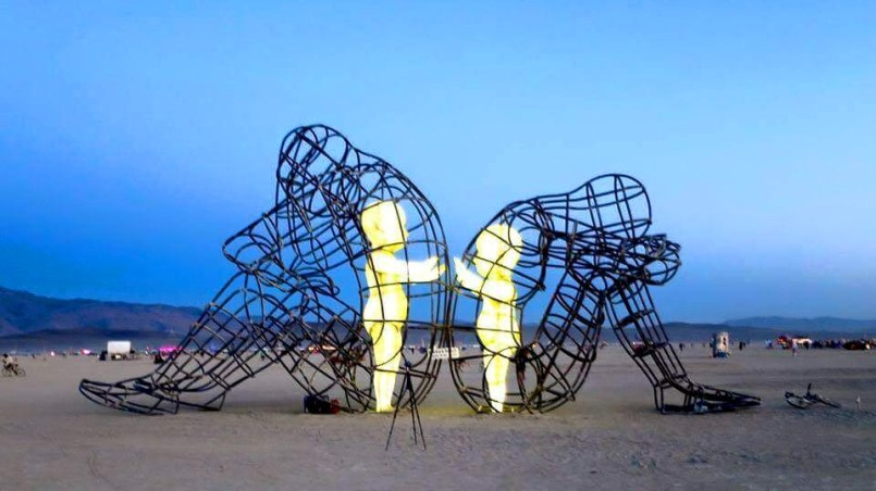 Фото с фестиваля Burning man