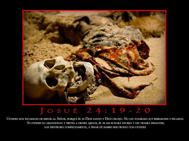 Josué 24:19-20