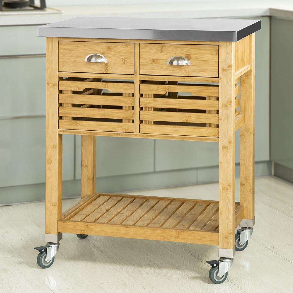 Sobuy Shop Details About Sobuy Rolling Kitchen Trolley Cart Storage Cabinet With Drawers Fkw40 N Uk