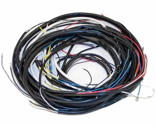 Wiring Harness, Bug, Complete Harness, Cars with AL82 Alternator