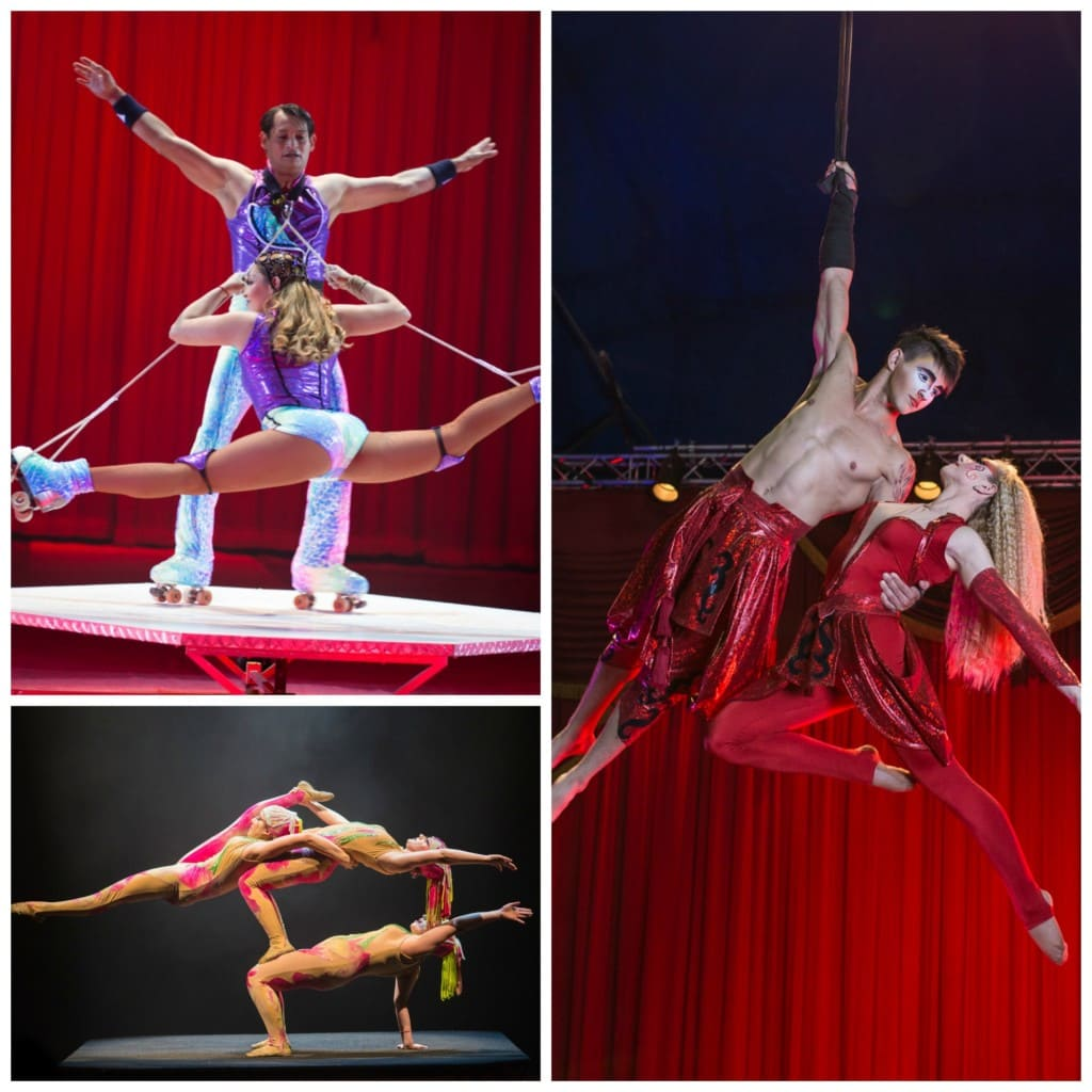 Get Circus Vargas discount tickets coming to 4 Southern California locations with this one very special discount code!