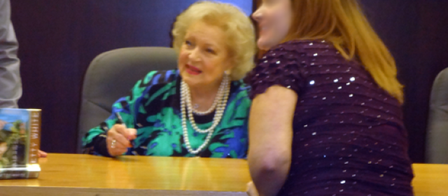 The Night My Kid Met Betty White