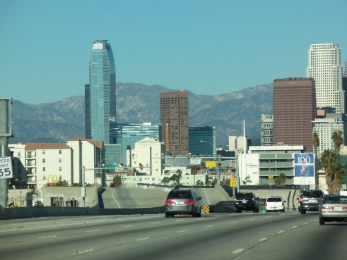 Downtown Los Angeles - Looking East from the 10.