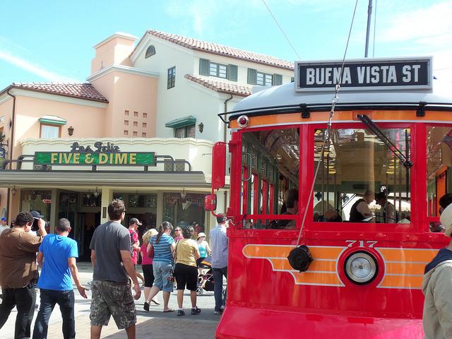 Buena Vista Street at California Adventure