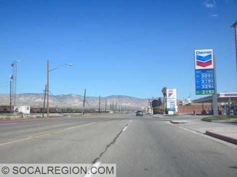Passing through Mojave.