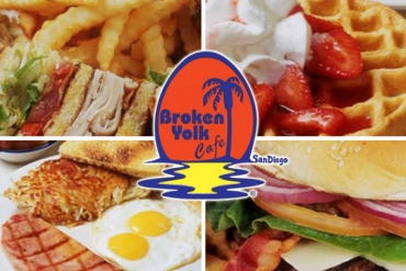 Broken Yolk Cafe Half Off!