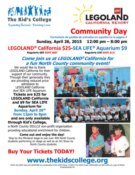 Legoland Community Day