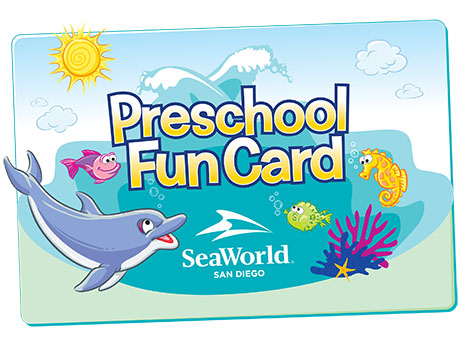 what is the seaworld preschool fun card - Pictures For Preschool