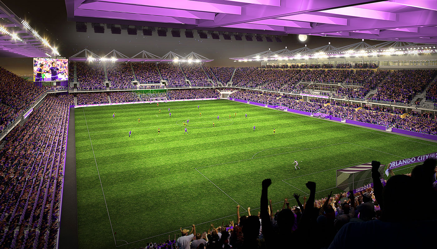 Green City 3d Wallpaper New Orlando City Sc Stadium Larger Privately Financed