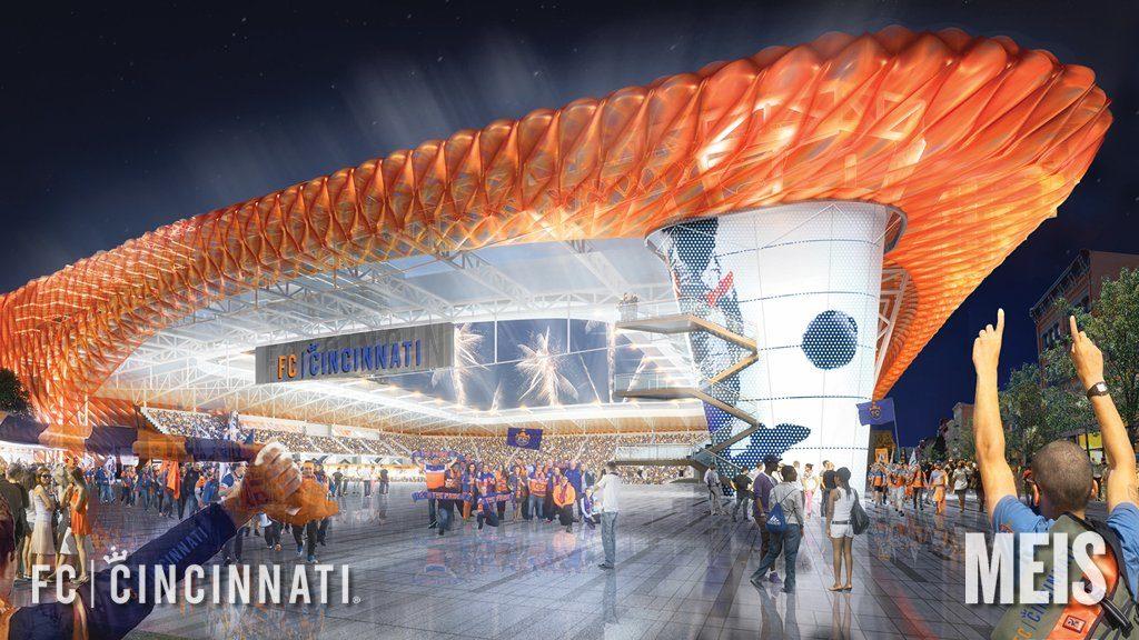 FC Cincinnati Pitches $250M Stadium for Oakley - Soccer Stadium Digest