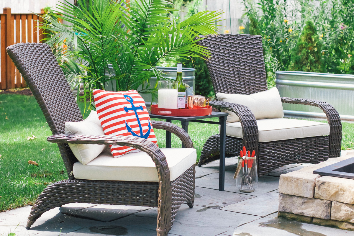 Outdoor Furniture Online Update Patio With Kmart So Chic Life