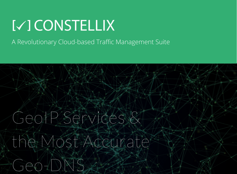 Constellix DNS: GeoIP Services eBook